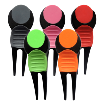 Five Divot Tools in Multiple Colors