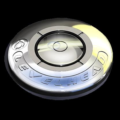 Silver Circular Ball Marker