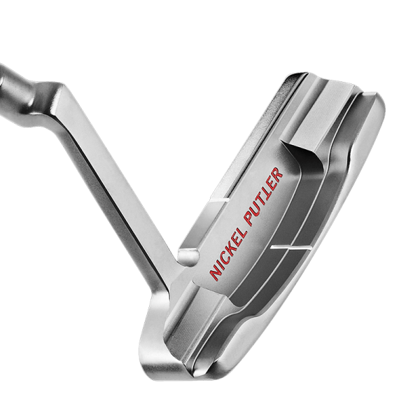 Back of Silver Putter Head
