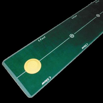 Green Mat with Yellowo Circle