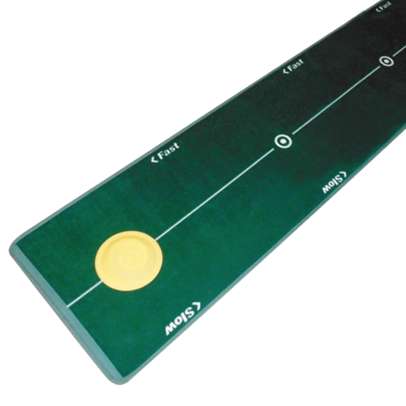 Green Mat with Yellowo Circle