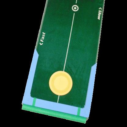 Green Mat with Yellow Circle